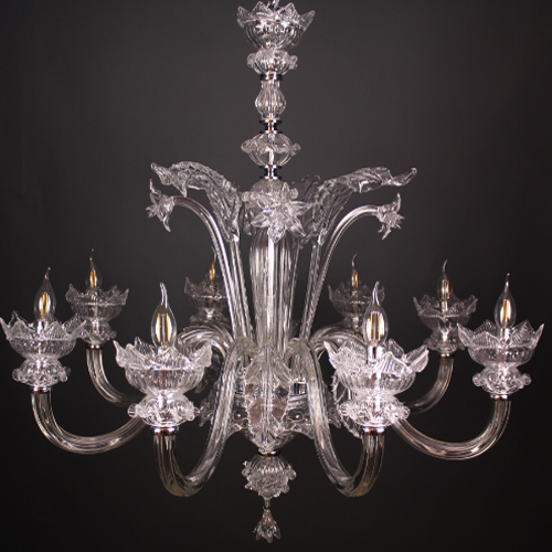#2417 Crystal Clear Chandelier